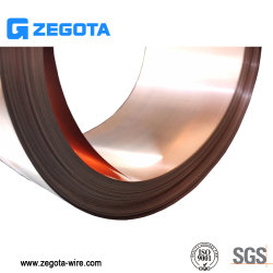 China Factory Cobre Berílio condutividade eléctrica elevada faixa de bronze de berílio C17200
