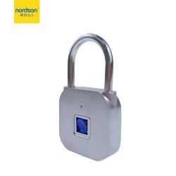 휴대용 IP62 방수 미니 LED 조명 자전거 홈 핸드백 캐비닛용 지문 자물쇠