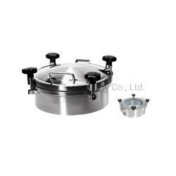 316l Coperchio Per Manhole a pressione con ruota in plastica con guarnizione EPDM