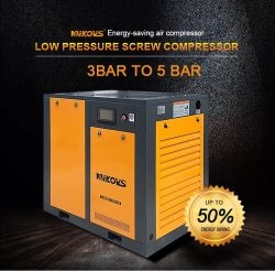 El Aire del Compresor de Tornillo 15kw 120psi/ 80cfm/ 2m/3/Min Mando Directo Eléctrico Compresor de Aire de Trabajo Estable