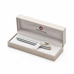 Vente chaude Fancy Fontaine Stylo en velours un emballage cadeau encadré pour stylo