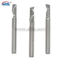 La Chine Spirale de carbure de flûte unique fin Mill CNC Router Bit pour la coupe en plastique