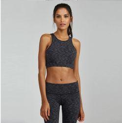 Schneller trockener Gymnastik-Punkt-Abnützung-Frauen-Yoga-Büstenhalter und Hosen eingestellte Form-Trainingsanzug-Eignung-Gamaschen-Kleid-Breathable Kleidungs-Qualitäts-Kleidung