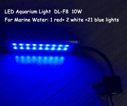 Le piante sottili eccellenti dell'indicatore luminoso dell'acquario del LED coltivano la lampada per agrafe di illuminazione