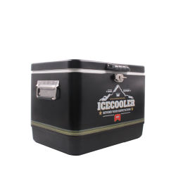 아마존 BBQ를 위한 최신 판매 13L 포도 수확 금속 얼음 냉각기 얼음 양동이