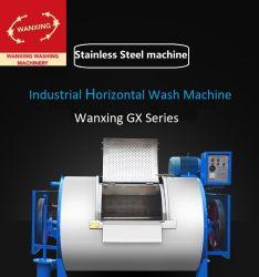 ホテルの病院の洗濯の店のための産業/商業的なローラーのステンレス製のまだ水平の(腹タイプ)洗濯機