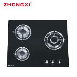 Gasfornuis van China van de Steun van het Gietijzer van het Gietijzer van het glas het Hoogste Pan[Jzq-G303]