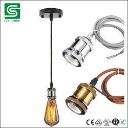 مصباح بندول معدني معتّق E27