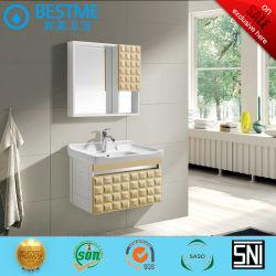 Salle de bains meubles d'accueil Cabinet du Bassin de Lavage PVC Jr-3152