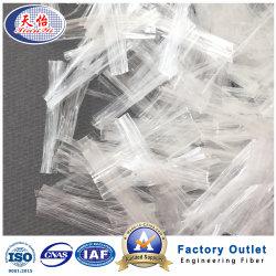 Fibra concreta della rete del polipropilene della fibra chimica della Cina dei fornitori delle fibre dei pp