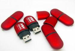Schijf van de Flits USB van de Aandrijving van de Lippenstift USB van de Schijf van U van de capsule de Plastic