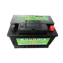 12V75Ah sans entretien scellé Auto 57539mf de batterie de voiture