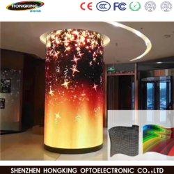 Het binnen Volledige Scherm van Display/LED Zacht/van de Flexibele Kleur/LEIDENE Bendable voor Reclame
