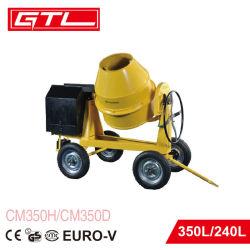 186f macchina del miscelatore di cemento della sabbia del motore diesel 350L per mescolare calcestruzzo/malta (CM350D)