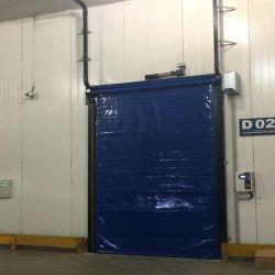 Congelador Roll Up de alta velocidade para o depósito de porta