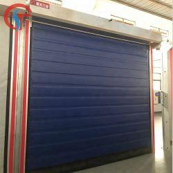 Una acción rápida y automática de buena calidad cortina de lona de almacenamiento en frío de la fábrica de alimentos Habitación Refrigerador de rodillo de la puerta del congelador de obturación rápida