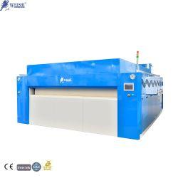 Máquinas de lavandaria automática industriais de grande capacidade torácica para engomar e máquina de dobragem para Lençol