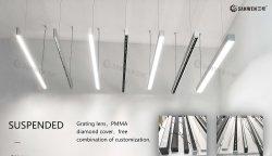 3570 LED lumière linéaire nouvellement Conception raccord pour salle de réunion de la Banque de bureau