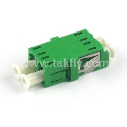 LC aan LC de Enige Optische Adapter van de Vierling van de Wijze Multi-Mode Duplex