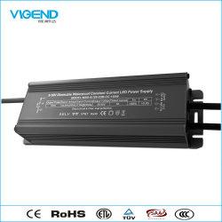 Driver de LED étanche 150W avec transformateur de puissance 0-10V modulation PWM