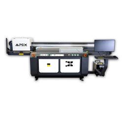 Precio al por mayor baratos de bajo coste Utilizadas de Formato grande plana LED impresora UV para vidrio