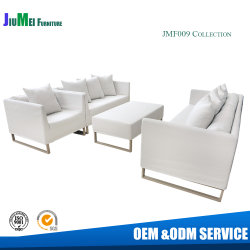 Tissu de profilé en aluminium canapé patio du jardin d'utilisation d'accueil mobilier extérieur (F009)