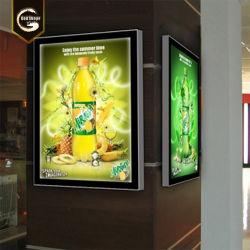 ライトボックスを広告するLightboxesの表記LEDの照明印の水晶