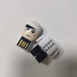 Laufwerk USB-Blitz-Laufwerk der Plastikdoktor-Robot Human People Pen für Geschenk-Förderung
