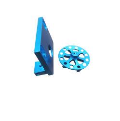 Синий Anodizing велосипед с ЧПУ детали