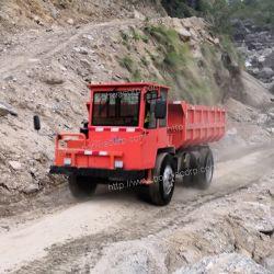 La minería subterránea Dumper/gestor de descarga/Camión Volquete con capacidad de 6 toneladas