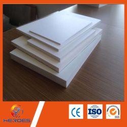 18mm Celuka PVC Placa de espuma de folha de PVC com diferentes densidades de mobiliário e porta de gravura Adervtising tornando