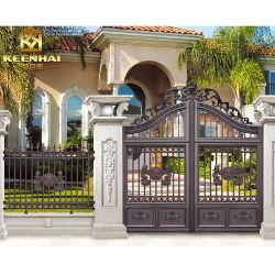 La arquitectura de Villa Jardín de aluminio puerta valla