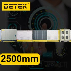 Automática Vertical televisão Prima Online de enchimento de gás de vidro isolante máquina 2500mm para vidraças duplas de Processamento de vidro Company