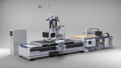 Mobilier Matériel de fabrication de portes des armoires, machine CNC de nidification 2D 3D GRAVURE SUR BOIS CNC Router 1325 machine à bois double broches CNC routeur à l'étiquetage de l'ATC