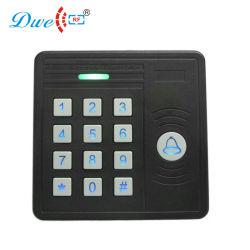 キーボードを持つRFIDアクセスコントローラ125kHzの近さのカード読取り装置