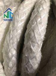 1.260 c 650kg/m3 de aislamiento térmico de fibra cerámica mineral cuerda para horno de coque de material de sellado de la cortina de tela, cerámica y materiales aislantes de materiales textiles