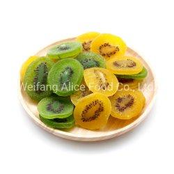 Frutas desidratadas sabor agradável Kiwi Slice secas populares Kiwis