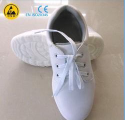 ESD de alta qualidade à prova de couro Calçado de Segurança Industrial