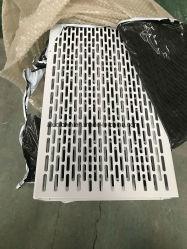 Orificio elíptico perforados de aluminio panel decorativo para pared exterior