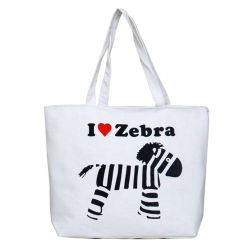 Two Handle를 가진 면 Canvas Reusable Tote Package Shopping Beach Bag