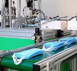 機械にフルオートマチックの生産ラインをする医学の防護マスク