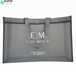 Gran bolsa de malla para ir de compras, gimnasio, piscina, ducha, Playa