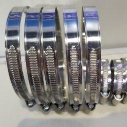 Klem van de Slang van G van het roestvrij staal (Duits Type) de Niet-geperforeerde met 9mm