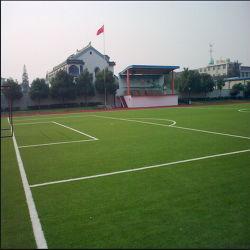 L'herbe de plein air en plastique de soccer de l'herbe Terrain de football
