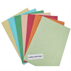سميك لوح بريستول ورقة [إمبوسّ لثر] حبّة تغطية ورق مقوّى ورقة