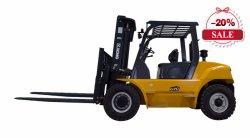 Diesel van 6 Ton van XCMG 2018 Nieuwe Vorkheftruck met het ZijInstelmechanisme van de Draaier en van de Vork voor Verkoop
