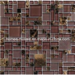El metro de cerámica de porcelana de pizarra Mosaico mosaico Mosaico de piedra