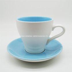 고품질 커피 사기그릇 찻잔과 접시