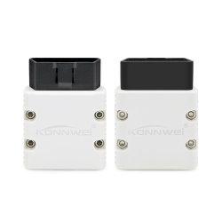 Novíssimo Konnwei Kw902 Mini Elm327 DE OBD II carro Bluetooth aparelho de diagnóstico Elm 327 OBD2 Scanner de leitor de código melhor do Elm327 V2.1