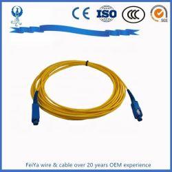 光ファイバパッチ・コードのピグテールケーブルのジャンパーSc LC FC St E2000 Lx。 5 MTRJ Mu